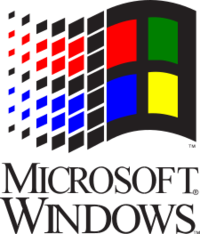 Windows 3.0 26 3.1x logo